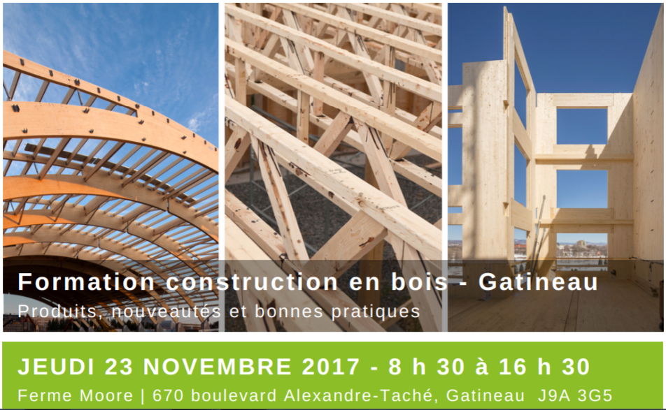 Collectif bois for Formation construction bois