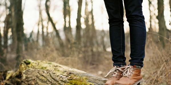 Marcher dans le bois